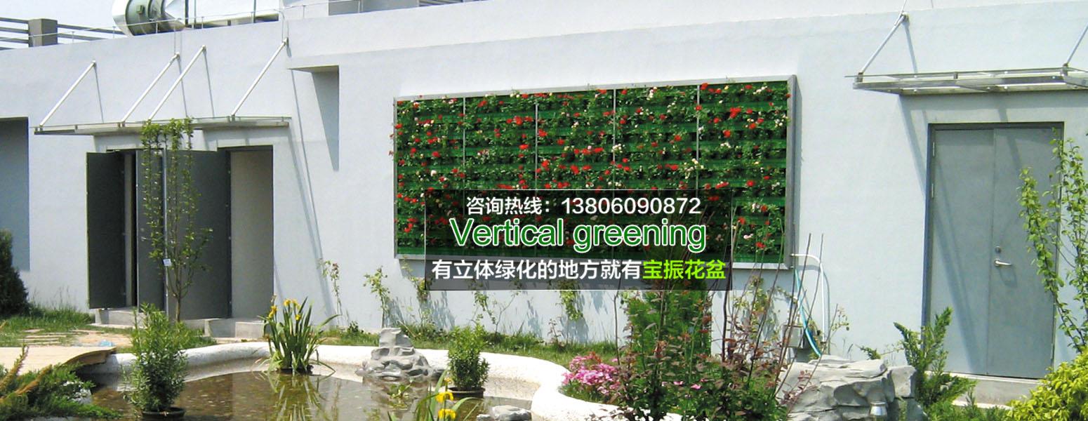 延安室外墙面垂直立体绿化